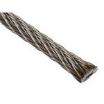 RS PRO Stainless Steel Wire Rope, 75m