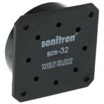 Sonitron Piezo Speakers, 100dB, 500 → 8000 Hz, 66nF, 5.8mm Lead Length, 33.5 x 33.5 x 9.7mm