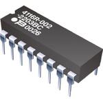Bourns Bussed Resistor Network 10kΩ ±2% 7 Resistors, 2W Total, DIP package 4100R Through Hole