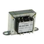 RS PRO 12VA 2 Output Chassis Mounting Transformer, 12V ac