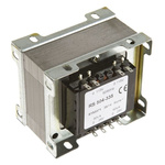 RS PRO 100VA 2 Output Chassis Mounting Transformer, 24V ac