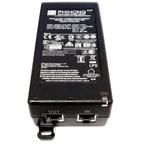Phihong Single Port POE Injector, 240V ac Input, 56V Output, 1.6A, 90W