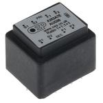 Through Hole Audio Transformer 600Ω 100mW Hz @ 300, 1mW Hz @ 30, 2.5mW Hz @ 50