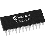 Microchip ATF22LV10C-10PU, SPLD Simple Programmable Logic Device ATF22LV10C 10 Macro Cells, 22 I/O, ISP, 10ns CMOS