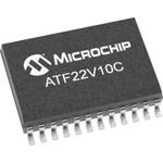 Microchip ATF22V10C-10SU, SPLD Simple Programmable Logic Device ATF22V10C 500 Gates, 10 Macro Cells, 22 I/O, ISP, 5ns