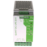 Phoenix Contact DIN Rail UPS Uninterruptible Power Supply, 24V dc Output - UPS