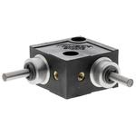Huco L Gearbox, 1:1 Gear Ratio, 0.68 Nm Maximum Torque