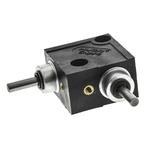 Huco L Gearbox, 1:1 Gear Ratio, 0.11 Nm Maximum Torque, 1000rpm Maximum Speed