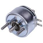 45° Rotary Solenoid, 33.3 mm Diameter, 25%, 40W, 28 V dc