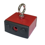 Holding Magnet, 45kg for fl at steel surfaces, Hand tools and other ferrous items on contact, nails