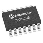 CAP1208-1-A4-TR Microchip, CAP1208 Capacitive 3 V to 5.5 V 16-Pin QFN