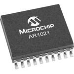 AR1021-I/SO, Resistive Touch Screen Controller, 10 bit I2C, SPI 4-Wire, 5-Wire, 8-Wire, 20-Pin SOIC