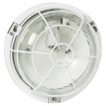 Legrand Round LED Bulkhead Light, 100 W, , Lamp Supplied, IP55