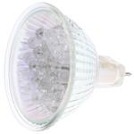 Orbitec GU5.3 LED Cluster Light, Blue, 20 mA, 12 V ac, 50mm, 15° view angle