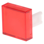 Red Square Push Button Lens for use with 31 Series