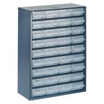 Raaco 36 Drawer Storage Unit, Steel, 417mm x 306mm x 150mm, Blue