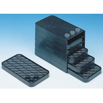 Licefa 6 Drawer Storage Unit, 130mm x 187mm x 113mm