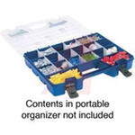 Portable Organizer; Large Lid Storage Organizer; 12 to 62; 18-1/4; 13-3/8 in.