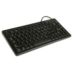 Cherry Keyboard Wired PS/2, USB Compact, QWERTY (UK) Black