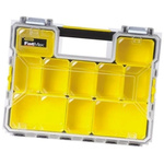 Stanley 12 Cell PP, Adjustable Compartment Box, 116mm x 446mm x 357mm