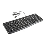Logitech Keyboard Wired USB, QWERTZ Black