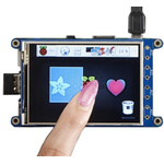 ADAFRUIT INDUSTRIES, PiTFT Plus with 3.2in Resistive Touch Screen