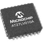 Microchip 1Mbit EPROM 32-Pin PLCC, AT27LV010A-70JU