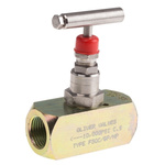 RS PRO Line Mounting Hydraulic Flow Control Valve, G 1/2, 700 bar