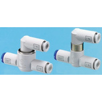 SMC Pneumatic Logic Element Function Fitting VR12 Series, 8mm Tube, 1 MPa Max Operating Pressure