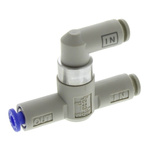 SMC Pneumatic Logic Element Function Fitting VR12 Series, 4mm Tube, 1 MPa Max Operating Pressure