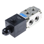 Bosch Rexroth Oil Control CETOP Mounting Hydraulic Flow Control Valve, R933003835, 6-way, 12V dc, 90L/min