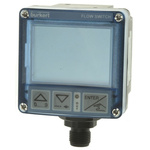 Burkert, 2 → 1200 L/min Flow Controller, Swivel 5-Pin M12 Plug, PNP, 12 → 30 V dc, LCD