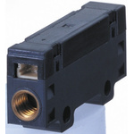 Omron, 0 → 3 L/min Mass Flow Controller, 3-Wire Connector, Analogue, 10.8 → 26.4 V dc
