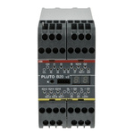 ABB Pluto 2TLA Series Safety Controller, 8 Safety Inputs, 4 Safety Outputs, 24 V dc