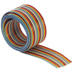 Harting 34 Way Unscreened Flat Ribbon Cable, 42.91 mm Width, 30m