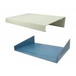 Hammond 1456, Sloped Front, Aluminium, 431 x 280 x 89mm Desktop Enclosure, Beige, Blue