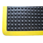 COBA Bubblemat Safety Individual Rubber Anti-Fatigue Mat x 900mm, 1.2m x 14mm