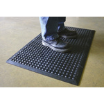 COBA Bubblemat Interlocking Middle Mat Rubber Anti-Fatigue Mat x 600mm, 900mm x 14mm