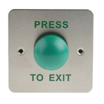 RS PRO Plastic Domed Push Button, 85 x 85mm