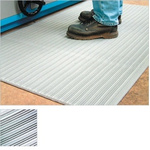 COBA Orthomat Ribbed Individual PVC Foam Anti-Fatigue Mat x 900mm, 1.5m x 9mm
