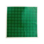RS PRO Black/Green Vinyl Safety Labels, Symbol-Text 25 mm x 25mm
