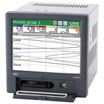 Lumel KD7, 5 Channel, Graphic Recorder Measures Current, Humidity, Resistance, Temperature, Voltage