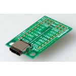 Surface Mount (SMT) Board MSOP Epoxy Glass Double-Sided 38.36 x 22.86 x 0.8mm FR4
