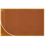 RE060-HP, Single Sided DIN 41612 C Matrix Board FR2 with 37 x 56 1mm Holes, 2.54 x 2.54mm Pitch, 160 x 100 x 1.5mm