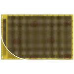 RE060-LF, Single Sided DIN 41612 C Matrix Board FR4 with 37 x 56 1mm Holes, 2.54 x 2.54mm Pitch, 160 x 100 x 1.5mm