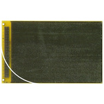 RE438-LF, Double Sided DIN 41652 C Eurocard PCB FR4 With 113 x 76 1.27 x 1.27mm Pitch, 160 x 100 x 1.5mm