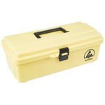 Dissipative Polypropylene ESD Box, 368 x 191 x 127mm