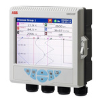 ABB SM503FC/B000010E/STD, 3 Channel, Graphic Recorder Measures Current, Resistance, Temperature, Voltage