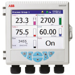 ABB SM503FC/B2E0020E/STD, 3 Channel, Graphic Recorder Measures Current, Resistance, Temperature, Voltage