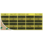 PCB Adapter DIL Epoxy Glass Single-Sided 96.75 x 39mm FR4